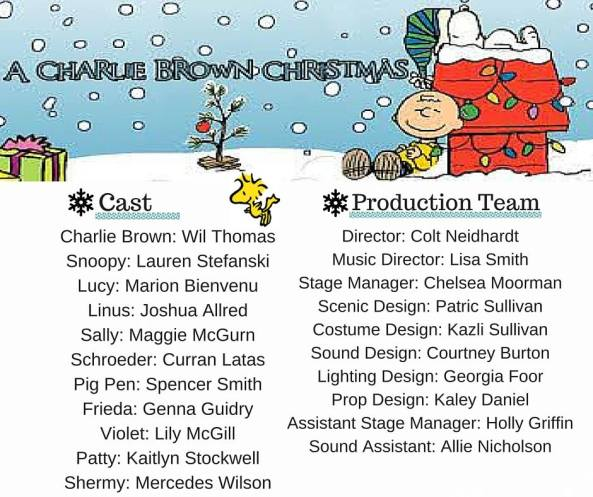 charlie brown cast image