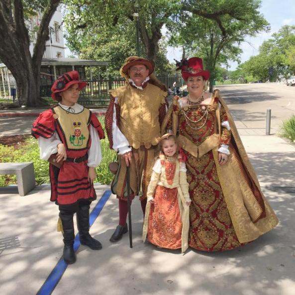 Louisiana Ren Fair characters