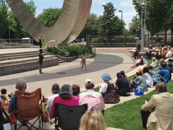 Outdoor production of A Midsummer Night's Dream